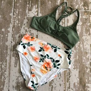 Cupshe Two Piece Bathing Suit
